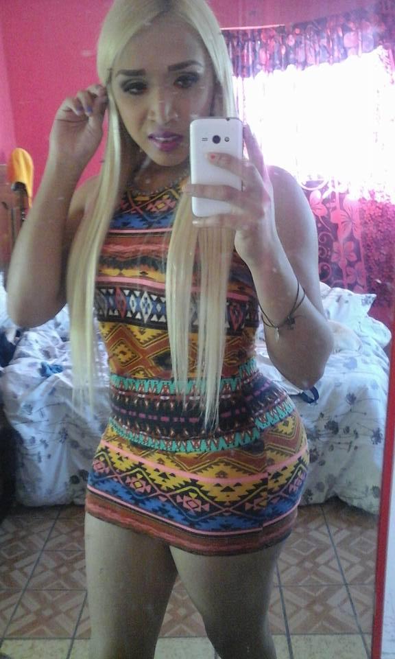 Karen Ahilin Jaquez selfie de transexual