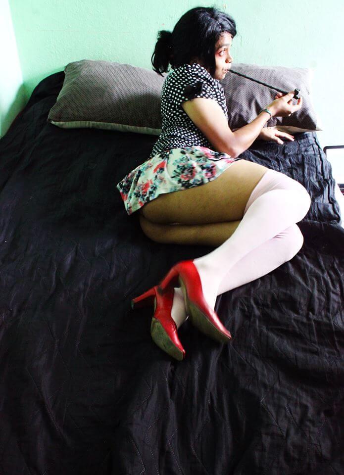 Karz Jimenez sexy trans