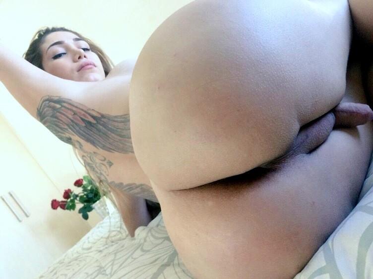 sexy selfie Brandy Mia travesti colombiana