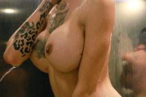 Katy Leon shemale shower