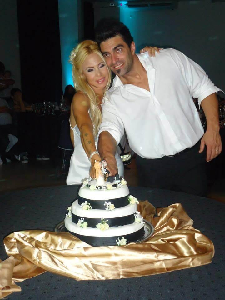 Jazmin Ortega y su esposo