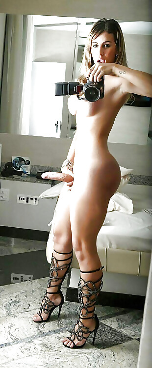 shemale selfie hot tranny