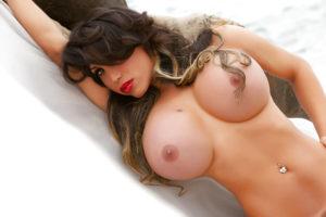 Alexandra Bittencourt busty transsexual