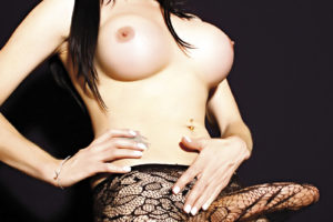 Fabiola Voguel trans en lencería