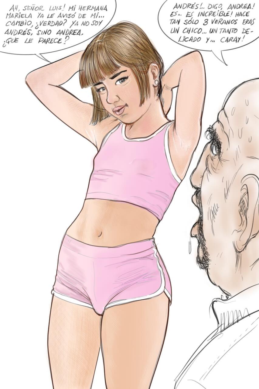 comics eroticos trans