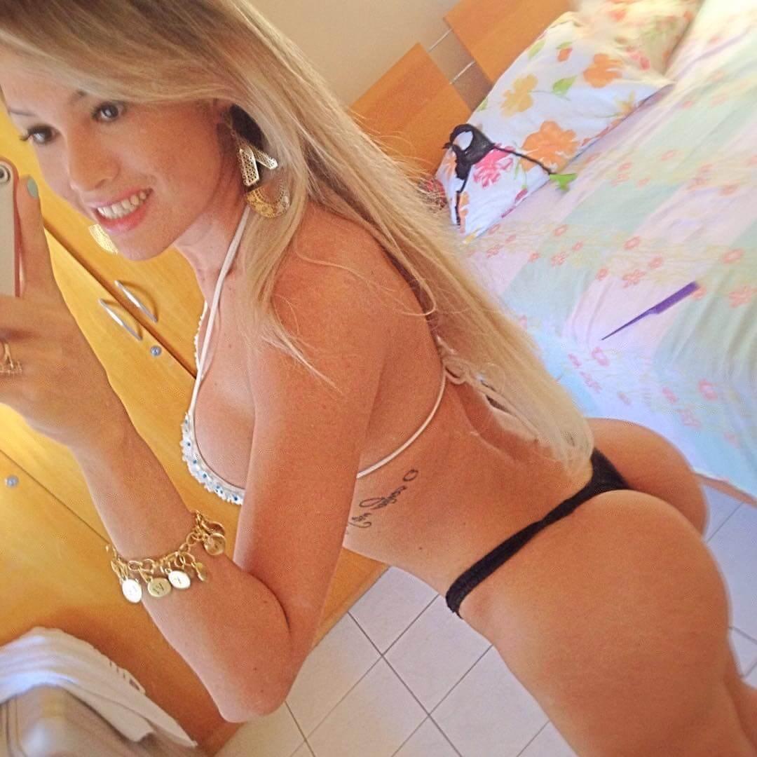 Bianca Hasine tranny selfie
