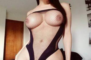 Katy Sans big tits shemale