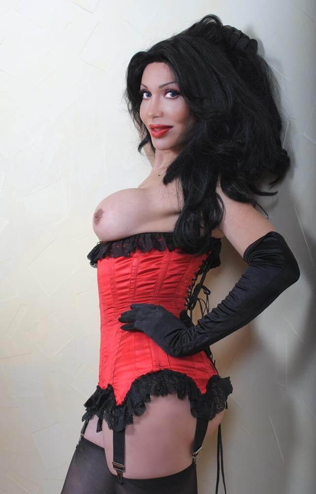 Luva Jaquelin Torrio shemale lingerie