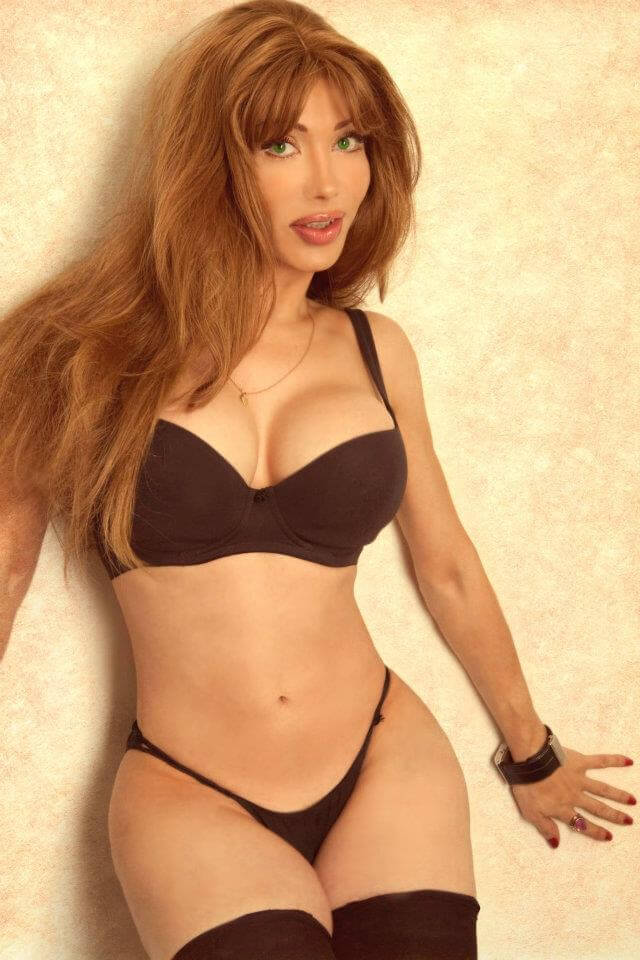 Luva Jaquelin Torrio transsexual