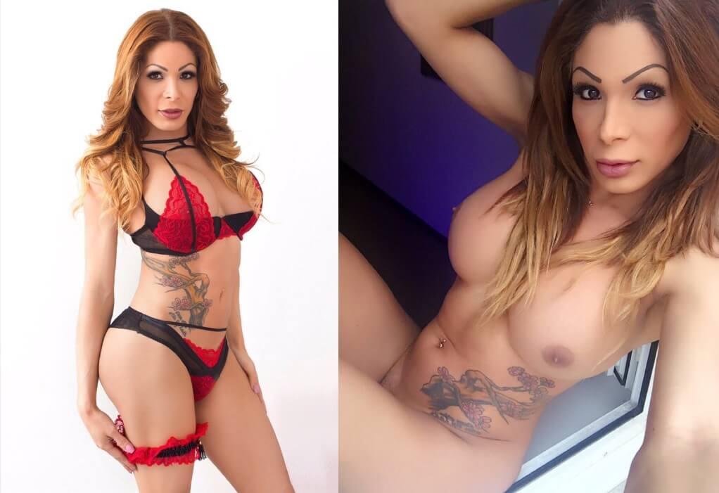 Vanessa Jhons Shemale Pornstar Revelacion 2017
