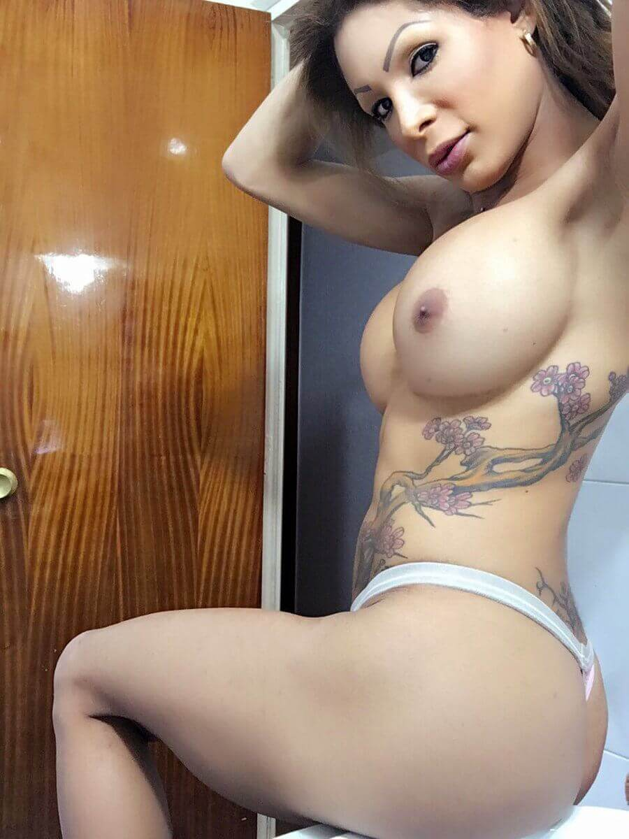 Vanessa Jhons busty tranny