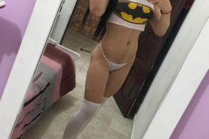 Salome Acosta selfie ts