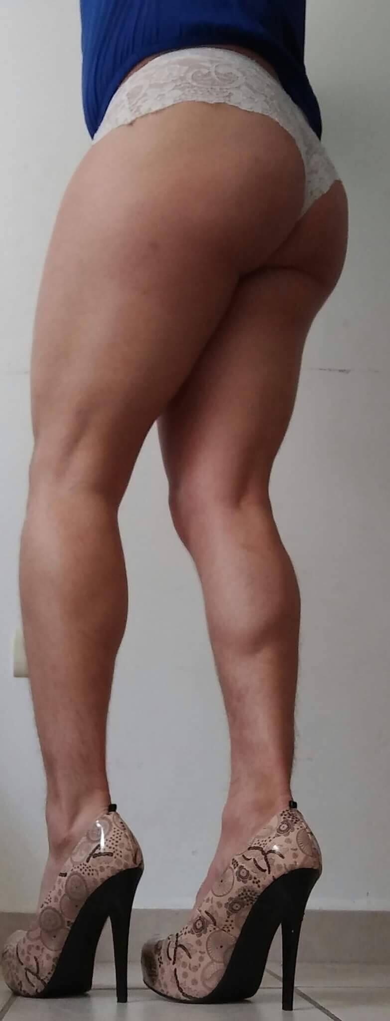 piernas sensuales travesti
