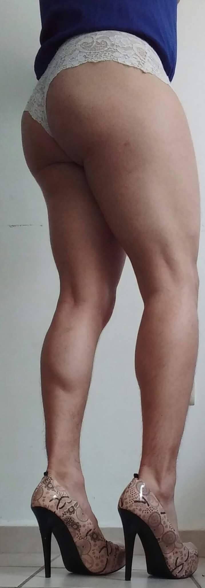 sexy legs tgirl
