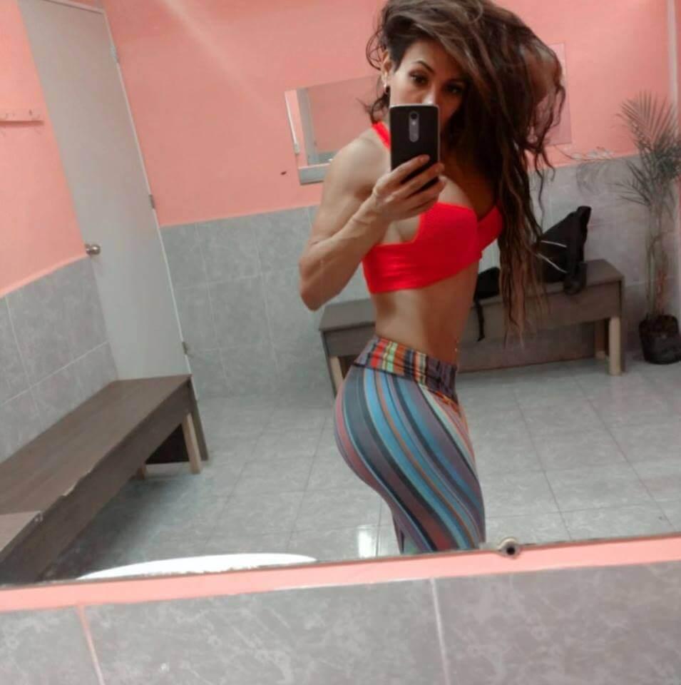 Ambar Godoy shemale selfie