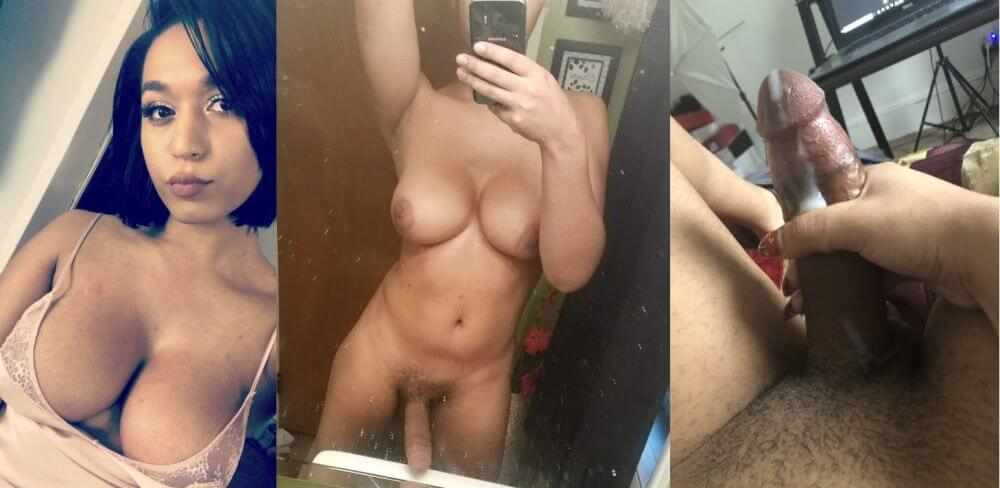 BBC Shemale Webcam Model Melody Monae from Michigan