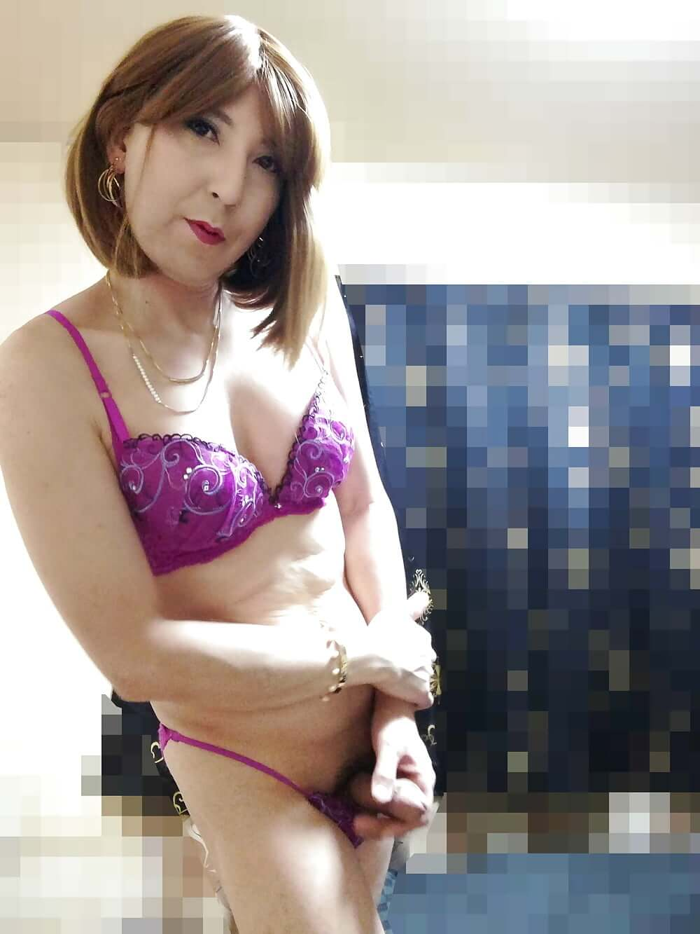alisa143_sexy newhalf lingerie