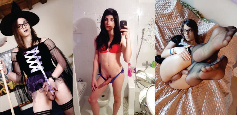 irene aoki transgirl from Italia